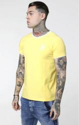 SIK SILK Pánske tričko SikSilk S/S Elastic Cuff Tee – Gold