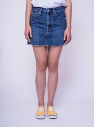 LEVIS Dámska modrá jeansová sukňa LEVI´S® Farba: Modrá,
