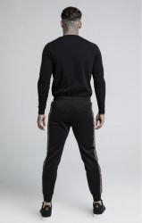 SIK SILK Pánske tričko s dlhým rukávom SikSilk Cartel L/S Gym Tee – Black #2