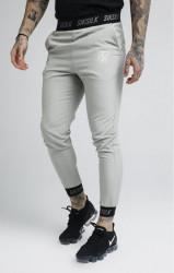 SIK SILK Pánske tepláky SikSilk Pursuit Pants – Grey