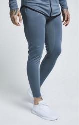 SIK SILK Pánske tepláky SikSilk Athlete Track Pants – Aqua Grey