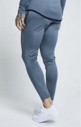 SIK SILK Pánske tepláky SikSilk Athlete Track Pants – Aqua Grey #1