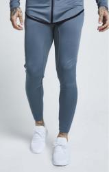 SIK SILK Pánske tepláky SikSilk Athlete Track Pants – Aqua Grey #2