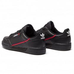ADIDAS ORIGINALS Dámske čierne tenisky ADIDAS Adidas Continental 80 Junior