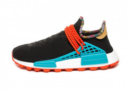 ADIDAS ORIGINALS Pánske tenisky Adidas Pharrell Williams SOLARHU NMD CORE BLACK, BLUE & CORE ORANGE
