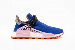 ADIDAS ORIGINALS Pánske tenisky Adidas Pharrell Williams SOLARHU NMD POWDER BLUE, PINK & ORANGE