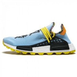 ADIDAS ORIGINALS Pánske tenisky Adidas Pharrell Williams SOLARHU NMD SUPERCOLOUR, BLACK & ORANGE