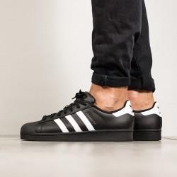 ADIDAS ORIGINALS Pánske tenisky Adidas Superstar Found Black White