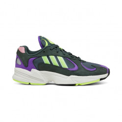 ADIDAS ORIGINALS Pánske tenisky ADIDAS Yung-1 Legend Ivy/Hi-Res Yellow/Active Purple