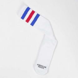 American Socks American Pride - Knee High white / blue - red - blue - UNI