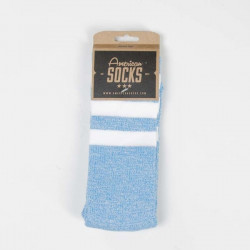 American Socks Blue Noise - Mid High blue / white - white - white - UNI