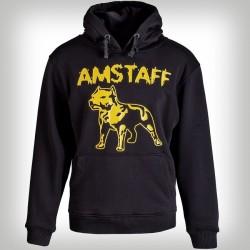 ce7d86a0269b Amstaff Logo Hoody - gelb