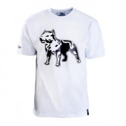 Amstaff Logo Shirt - weiss