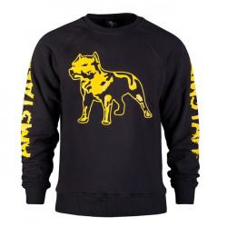 Amstaff Logo Sweater - gelb