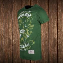 Amstaff Vintage Isanto T-Shirt - grün #2