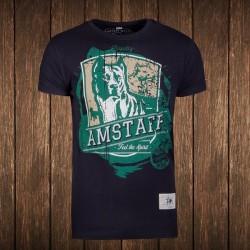Amstaff Vintage Kito T-Shirt - schwarz