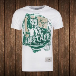 Amstaff Vintage Kito T-Shirt - weiß