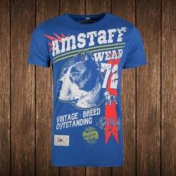 Amstaff Vintage Lomex T-Shirt - blau