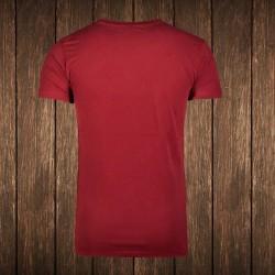 Amstaff Vintage T-Shirt - bordeaux #1