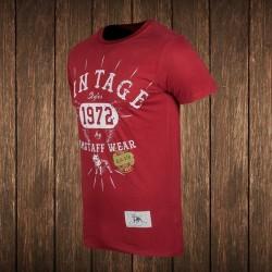 Amstaff Vintage T-Shirt - bordeaux #2