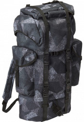 Batoh BRANDIT Nylon Military Backpack Farba: digital night camo, Grösse: one size