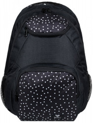 Batoh Roxy Shadow Swell true black dots for days 24l