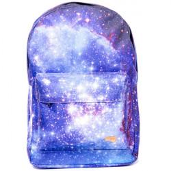 Batoh Spiral Galaxy Saturn Backpack Bag Black 18 l