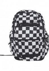 Batoh Urban Classics Backpack Checker black & white