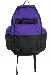 Batoh Urban Classics Backpack Colourblocking ultravilolet/black