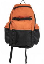 Batoh Urban Classics Backpack Colourblocking vibrantorange/black