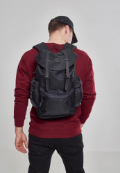 Batoh Urban Classics Camo Backpack With Multibags čierny