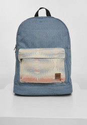 Batoh Urban Classics Inka Backpack Denim blue/multicolor