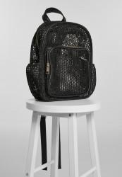 Batoh Urban Classics Lady Backpack Mesh Transparent black