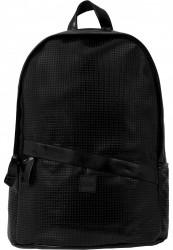 Batoh Urban Classics Perforated Leather Imitation Backpack čierna