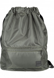 Batoh Urban Classics Pocket Gym Bag olivová