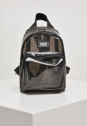 Batoh Urban Classics Transparent Mini Backpack transparentblack
