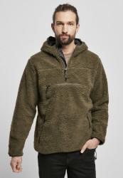 Pánska bunda BRANDIT Teddy fleece Worker Pullover Farba: camel, Grösse: XXL #16