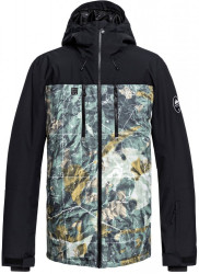 Bunda Quiksilver Mission Block grape leaf tanenbaum