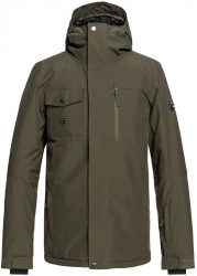 Bunda Quiksilver Mission Solid grape leaf