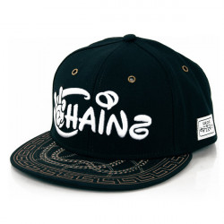 Cayler & Sons Chainz Black White Gold Snapback - UNI