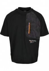 CAYLER SONS Pánske tričko C&S Mntn Camo Pocket Raglan Box Farba: black/mc,
