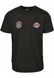 CAYLER SONS Pánske tričko C&S WL Forever Six Soccer Farba: black/mc,
