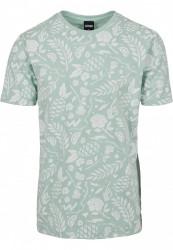 CAYLER SONS Pánske tričko C&S WL Leaves N Wires Tee Farba: mint/pale pink,