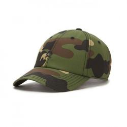 Cayler & Sons Premium Authentics Small Icon Curved Cap woodland camo / black - UNI