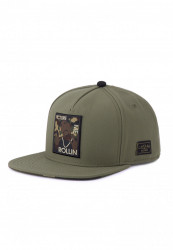 CAYLER SONS Snapback C&S WL 2PAC Rollin Cap Farba: olive/woodland,