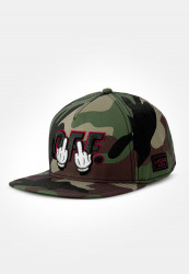 CAYLER SONS Snapback C&S WL Seriously Cap Farba: woodland/black,