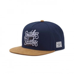 Cayler & Sons White Label Get Stiches Cap navy / cognac - UNI
