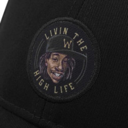 Cayler & Sons White Label Lifted Curved Cap black / yellow - UNI #3
