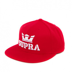 Červený snapback Supra Above