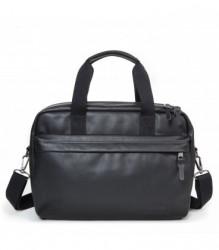 Cestovná taška EASTPAK BARTECH S Black Ink Leather 16 l